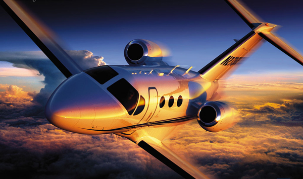 Traveling in Private Jets